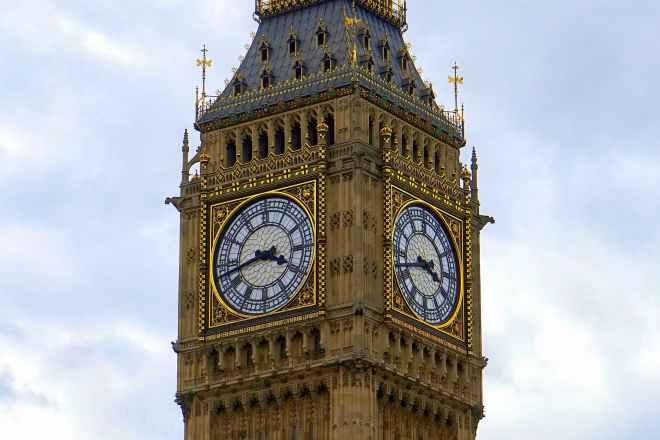 ancient architecture big ben britain